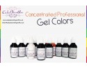 Pitch Black | Gel Food Colors | Concentrated ProGel | Cake Decorating | 20 ML