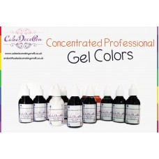 Caramel | Gel Food Colors | Concentrated ProGel | Cake Decorating | 20 ML