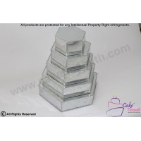 5 Tier Hexagon Shape Cake Tin