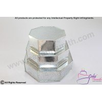 3 Tier Octagon Shape Cake Tin