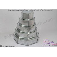 5 Tier Octagon Shape Cake Tin