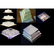 Diamond Cake Baking Tins - Longer