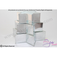 Star Shape Cake Caking Tins - 3 Tier - Five Sides