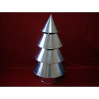 3D Christmas Tree Cake Tins - Four Tier