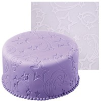 Impression Fondant Mat - Shooting Stars