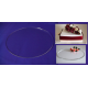 Round Crystal Cake Boards/Cake Drums - 7""