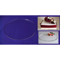 Round Crystal Cake Boards/Cake Drums - 15""