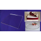 """Square Crystal Cake Boards/Cake Drums - 8"""""""