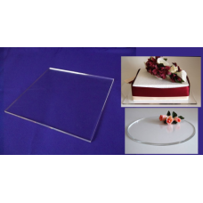 """Square Crystal Cake Boards/Cake Drums - 10"""""""