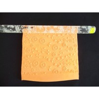 Sunflower Wine Impression Rolling Pin
