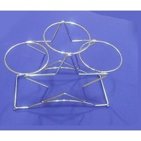 3 Tier Elegant Cake Stands - Metal Cake Stand