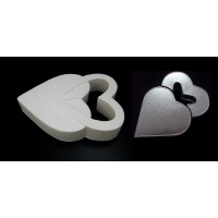 Ring Heart Cake Baking Tins - 3 Inch Deep