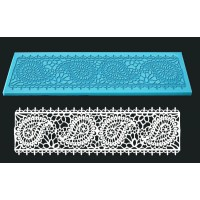 Single Cake Lace Mat For Cake Decorate - Design Paisely