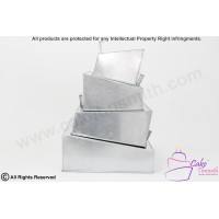 New - Wonky/Topsy Turvy Square Cake Tins 4 Tier
