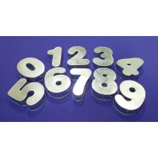 Number Cake Tins 0 to 9 - Round Corne Shape