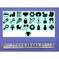 Baby Shower Design - Impression Rolling Pin