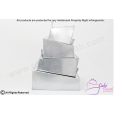 New - Wonky/Topsy Turvy Square Cake Tins 3 Tier