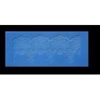 Single Lace Mat For Cake - Design Rose Ribbon