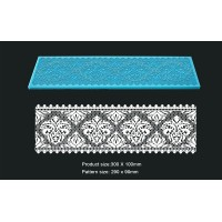 Cake Lace Mat For Cake Decoration - Damask Long