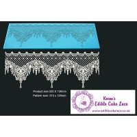 Cake Lace Mat For Cake Decoration - Xasara - 3D HD  Lace Mat