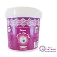 Edible Cake Lace Powder - 2 Part - 500 Grams - White -  Premium Quality