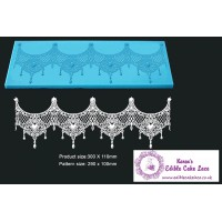 Cake Lace Mat For Cake Decoration - Tiffany - 3D HD  Lace Mat