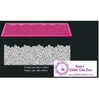 Cake Lace Mat For Cake Decoration - Wild Daisies