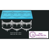Cake Lace Mat For Cake Decoration - Isabella - 3D HD  Lace Mat