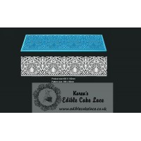 Cake Lace Mat For Cake Decoration - Peacock - 3D HD  Lace Mat