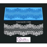 Cake Lace Mat For Cake Decoration - Serenity - 3D HD  Lace Mat
