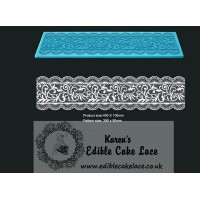 Cake Lace Mat For Cake Decoration - Chantelle - 3D HD  Lace Mat