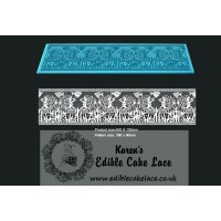 Cake Lace Mat For Cake Decoration - Ocean Fantasy - 3D HD  Lace Mat