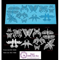 Cake Lace Mat For Cake Decoration | 3D HD  Birds Dragon Fly Butterfly Cake Lace Mat