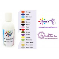 Air Brush - Red - Cake Decorating Edible Colors Paints by Karen's - 190 ML / 6.43 OZ