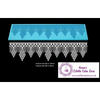 Cake Lace Mat For Cake Decoration - Morning Pearls - 3D HD  Lace Mat