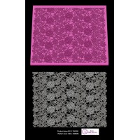 Cake Lace Mat For Cake Decoration  - 3D HD Cake Lace Fabric Mesh - Victorian Rose