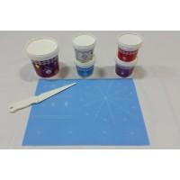 Cake Lace Starter Kit 28  ( Cake Lace Mix or Premix + Spreading Knife + Cake Lace Mats)
