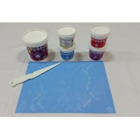 Cake Lace Starter Kit 29 ( Cake Lace Mix or Premix + Spreading Knife + Cake Lace Mats)