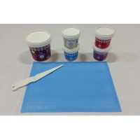 Cake Lace Starter Kit 2 ( Cake Lace Mix or Premix + Spreading Knife + Cake Lace Mats)