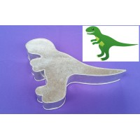 Dinosaur Design Novelty Shape Cake Baking Tins - 1