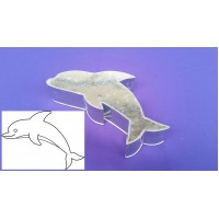 Dolphin Design Novelty Shape Cake Baking Tins - 1
