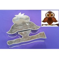 Owl Design Novelty Shape Cake Baking Tins - 2