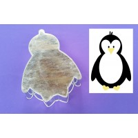 Penguin Female Novelty Shape Cake Baking Tins
