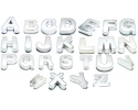 New- Alphabets Cake Baking Tins